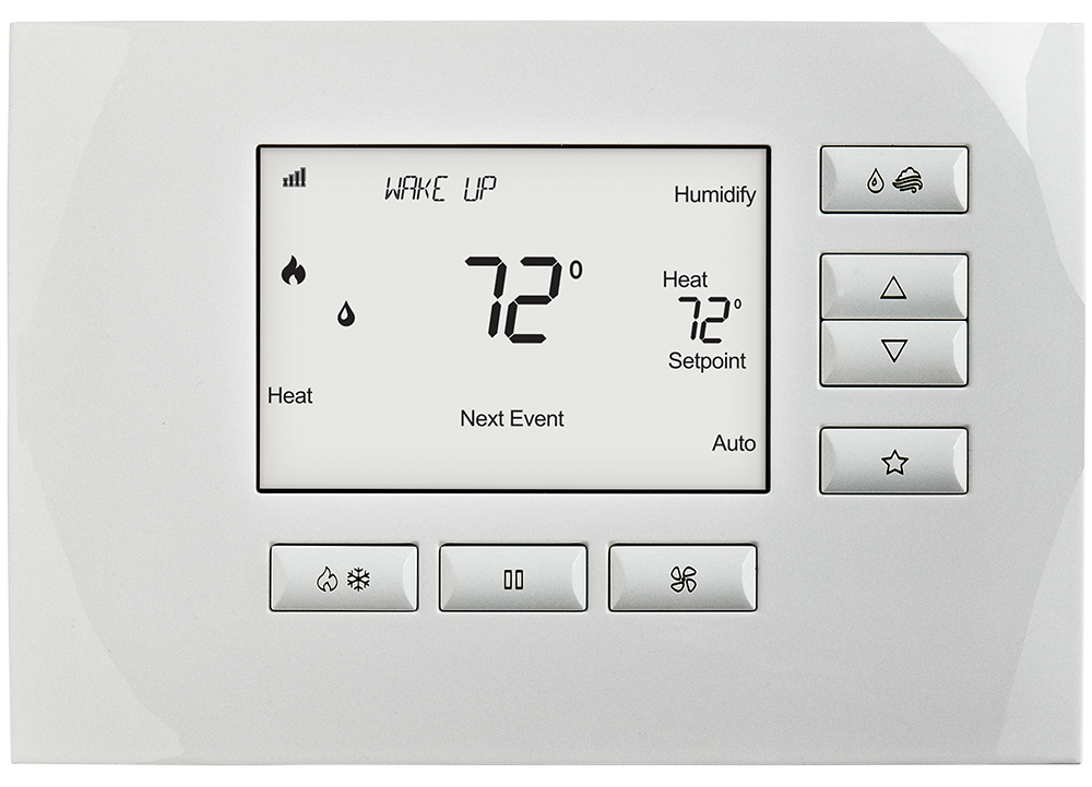 Home Automation Systems South Lyon MI - Control for Home Automation, Smart Lighting Control Systems - Telesis Electronics - C4-THERM-WH_LowRes