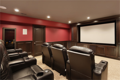 Residential Home Theaters Installation In White Lake MI  - HomeTheater2