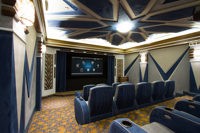 Home Theater Installation South Lyon MI | Telesis Electronics - Home_Theater
